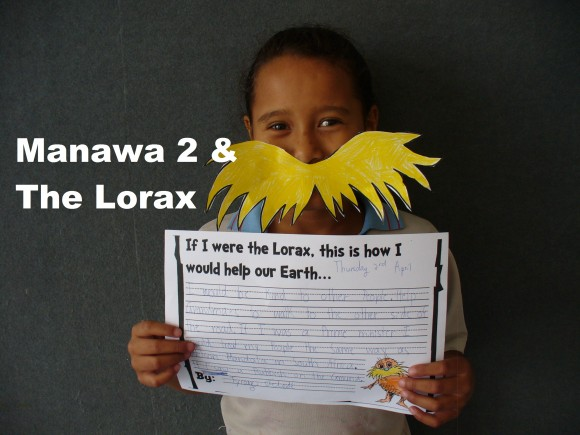Manawa 2 and The Lorax save the World!