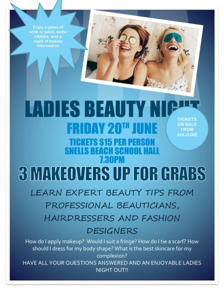 PTA Ladies Beauty Night