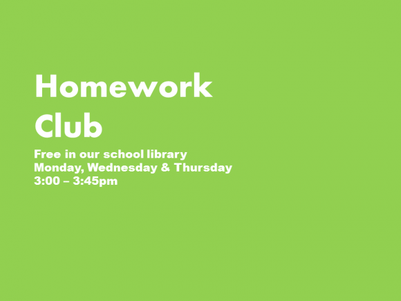 Homework Club Term 4