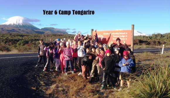 Year 6 Camp Tongariro 2015
