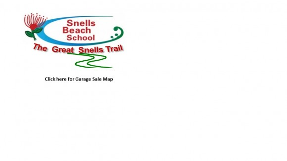 Snells Trail Garage Sale Map