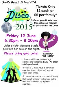 PTA Disco Poster 2015