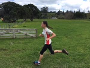 Sammie Running 1