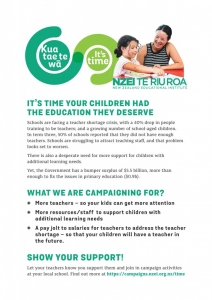 NZEI Community Flyer